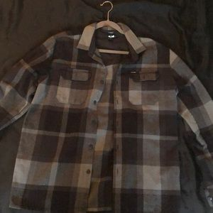 Volcom flannel thick